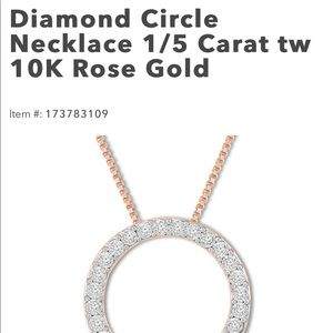 Kay jewelers rose gold necklace